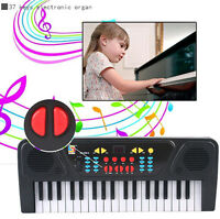 61 Keys Digital Music Electronic Organ Key Board Electric Piano With Microphone