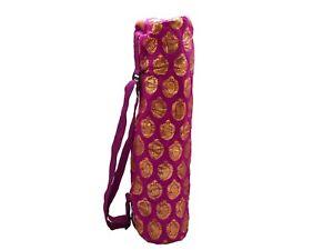 Shakti Yoga Mat Bag - Magenta