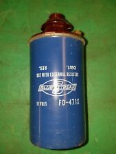 Blue Streak Ignition Coil Vintage N.O.S. FD-471X