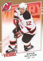 2008-09 Upper Deck Victory Hockey Gold #278 Brian Rolston New Jersey Devils