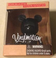 "Create Your Own CYO Disney VINYLMATION 3"" New in Box ~ BLACK ~ Mickey Mouse Ears"