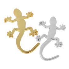 B69 Auto Aufkleber 3D Chrom Gecko Eidechse Metall in Silber oder Gold