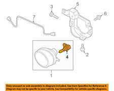 MAZDA OEM 04-14 3-Foglight Fog Light Bulb 000011H11