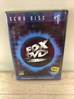 FOX DVD Video - DEMO DISC #1 - DVD - Brand New Sealed Includes