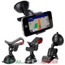 Supporto Universale Pinza Ventosa di Auto per Cellulare Rotazione 360 car GPS