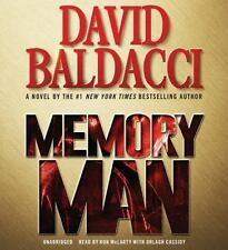 Memory Man (Memory Man series), Baldacci, David, Acceptable Book