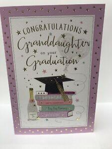 Granddaughter Graduation Greeting Card