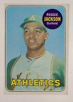 1969 Topps Reggie Jackson Oakland Athletics #260 HOF Rookie Baseball Card