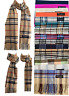 New Winter Womens Mens 100% Cashmere Wool Wrap Scarf Made in Scotland Scarves