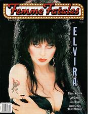 Femme Fatales Magazine Vol 4 Number 4 Elvira