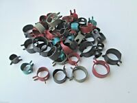 HOSE CLAMP Assortment (56-Pieces) Fuel Gas Lines Injection Controls 7-Sizes