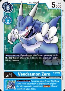 1x Veedramon Zero - P-011 - P Digimon Digimon Promos NM Regular