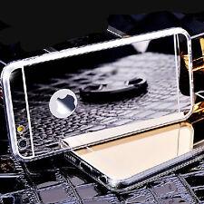 iphone 6S Case Tasche Hülle Schale Schutzhülle Cover Panzerglas Silber SPIEGEL