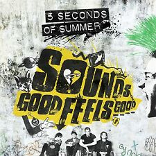 FIVE 5 SECONDS OF SUMMER: SOUNDS GOOD FEELS GOOD CD 5SOS NEW