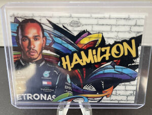 LEWIS HAMILTON 2020 Topps Chrome F1 Track Tags #TT-1