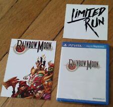Rainbow Moon sur Ps Vita de LRG Limited Run Games + sticker + carte postale