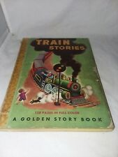 1949 Train Stories A Golden Story Book No 6 128 Pages In Full Color Vintage