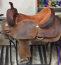"16 1/2"" Ranch Hand Cutting Saddle"