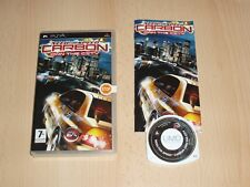 Need for Speed Carbon - Own the City (Sony Playstation Portable, Psp) Nfs