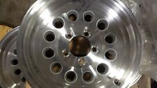 2- 15X5 /5 x4.5 ALUMINUM  MOD TRAILER  RV WHEEL TRAILER CITY DIRECT  LOW  PRICE