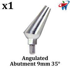 Dental Implant Abutment Angulated Angular Angle 35° Internal Hex 9mm + Screw