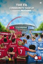 Fa Community Shield 2019 Liverpool v Manchester City - official match programme