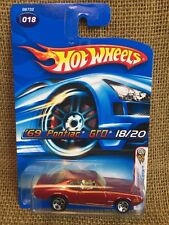 Hot Wheels 2005 1st Editions Realistix Burgundy '69 Pontiac GTO Judge