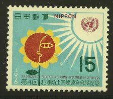 Japan Scott #1040, Single 1970 Complete Set FVF MH