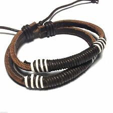 Leather Friendship Costume Bracelets without Stone