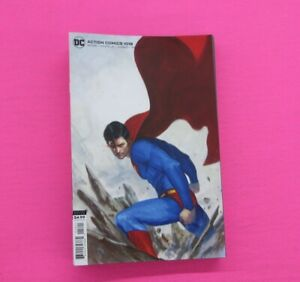 ACTION COMICS # 1018 COMIC Cover B Dell'Otto Card Stock VARIANT DC 2020