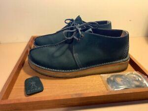 Clarks x 6876 Desert Trek Midnight Blue Suede + Laces Originals Beams Plus boot