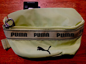 PUMA RHYTHM HIP SACK FANNY PACK BELT PACK WAIST BAG LIME GREEN NEW AUTHENTIC