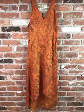 NWT Dharma Imports Silk Maxi Dress India Size M