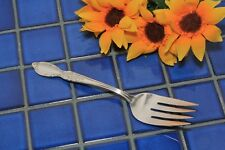 Rogers & Son Silverplate VICTORIAN ROSE Cold Meat Serving Fork 1954 FREE SHIP