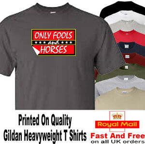 ONLY FOOLS AND HORSES T SHIRT NOVELTY ICONIC DESIGN