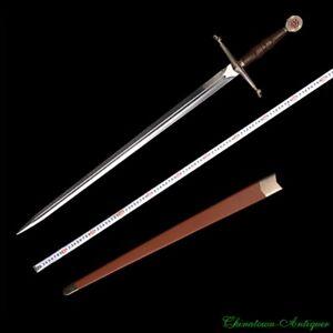 HandMade Kingdom of Heaven Sword Stainless Steel Blade Cosplay Anime Sword #2190