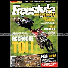 FREESTYLE MOTOCROSS N°5 HONDA XR50 ERIC SORBY STEFAN EVERTS JOËL ROBERT FMX 2003