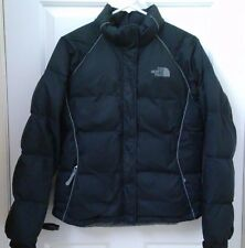 The North Face Womens Small Black Puffer Goose Down Winter Jacket Insulated Warm