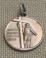 VTG Sancta Helena Ora Pro Nobis (Saint Helena Pray For Us) Medal Charm