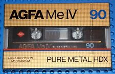 AGFA   ME  IV  90             BLANK CASSETTE TAPE (1) (SEALED)