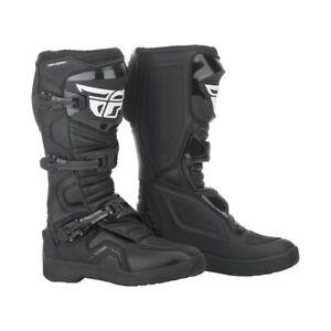 Fly 2019 Maverik Adult Motocross Boots Black Size UK 6-13