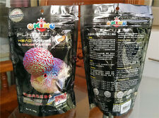 2Best Okiko Flowerhorn Cichlid Fish Food Platinum Head Huncher Color Faster.200G