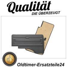 2 Schwarze Türverkleidungen Türpappen schwarz  im OEM Design für VW Bus T3