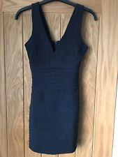 Missguided Bandage Dress Navy Blue UK 6. Party Dress