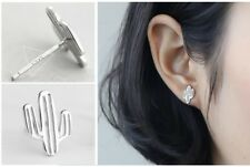 Super Adorable Tiny *Cactus* 925 Sterling Silver Stud Earring