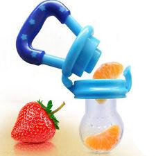 Baby Dummy Pacifier UK Fresh Food Fruit Feeder Nibbler Weaning Teething Nipple