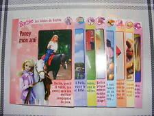 Fiches livrets Barbie éditions ATLAS en très bon état