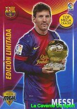 072B MESSI ARGENTINA FC.BARCELONA CARD EDITION LIMITED MEGACRACKS 2016 PANINI