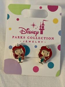Disney Parks Collection Jewelry - Ariel Pierced Ear Earrings Little Mermaid