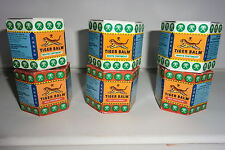 TIGER BALM LARGE  21ML PACK OF 6 -  3 RED &  3 WHITE FOR A GREAT PRICE